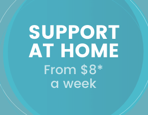 Suppert at home from $8 a week